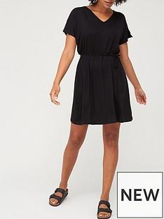 v-by-very-kimono-sleeve-jersey-cover-up-black