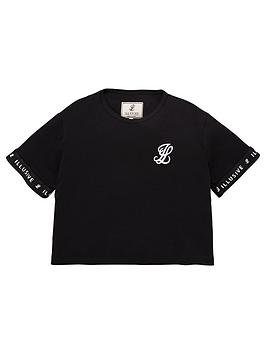 illusive-london-girls-core-cropped-t-shirt-black