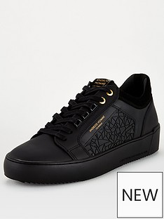 android-homme-venice-textured-trainers-black