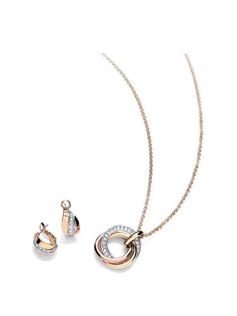 buckley-london-russian-sparkle-pendant-and-earrings-jewellery-set-withnbspfree-gift-bag