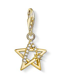 thomas-sabo-gold-plated-sterling-silver-star-charm