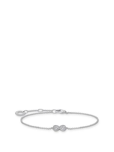 thomas-sabo-thomas-sabo-sterling-silver-infinity-bracelet