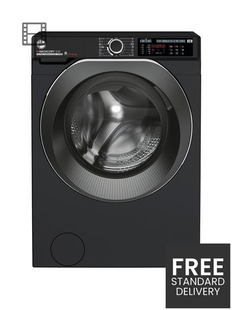 hoover-h-wash-500-hdd4106ambcb-80-106kg-1400-spin-washer-dryer-black