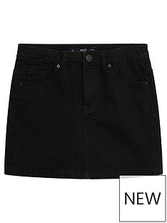 mango-girls-denim-skirt-charcoal