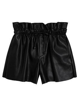 mango-girls-punbspshorts-black