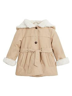mango-baby-girls-faux-fur-lined-hooded-coat-light-brown