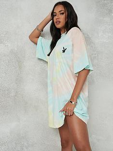 missguided-missguidednbspplayboy-tie-dye-oversized-t-shirt-dress-multi