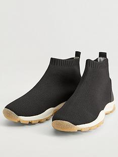 mango-boys-sock-runner-trainers-black