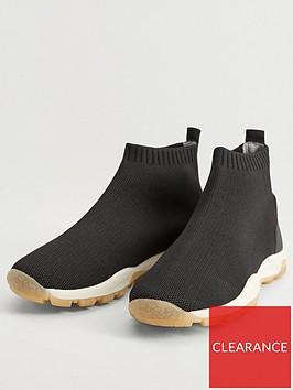 mango-boys-sock-runner-trainers-black
