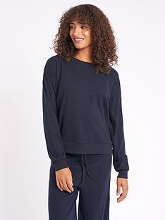 chelsea-peers-nyc-lounge-ribbednbspsweater-navy