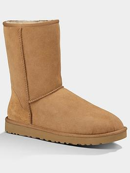 ugg-classic-short-sheepskin-lined-boots-chestnut