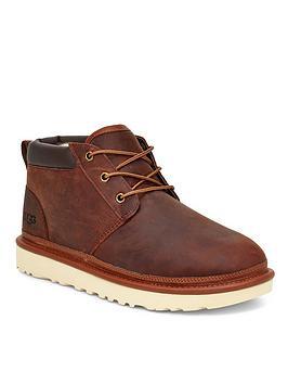 Ugg Neumel Utility Wool Lined Boots - Ginger, Ginger, Size 6, Men