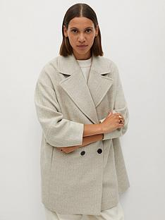 mango-short-formal-coat-beige