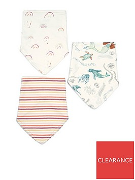 mamas-papas-baby-girls-3pk-bibs-multi