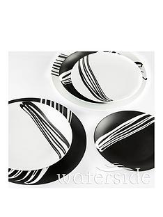 waterside-24-piece-milan-monochrome-matt-dinner-set