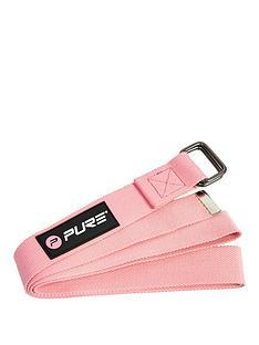 pure2improve-yoga-strap-pink