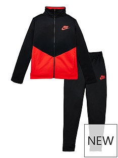 nike-boys-nsw-core-futura-poly-tracksuit-blackred
