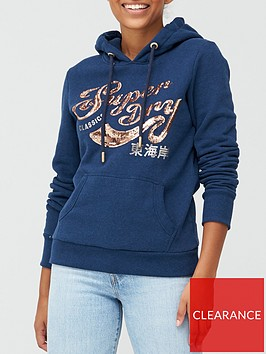 superdry-script-sequin-hoodie-navy