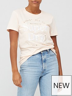 superdry-established-t-shirt-pink