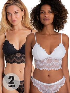 dorina-mia-2-pack-bralettes-black-white