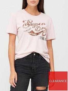 superdry-script-sequin-t-shirt-pink