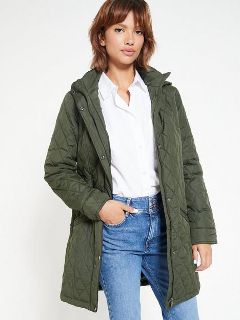 v-by-very-valuenbspquilted-water-repellent-jacket-khaki