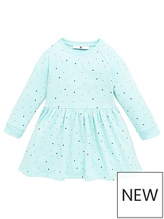 mini-v-by-very-girls-spot-print-essential-sweat-dress-aqua
