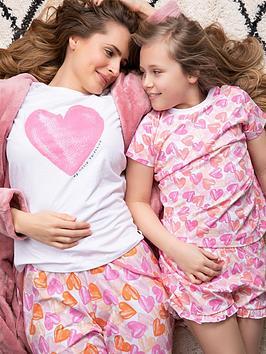 v-by-very-ladiesnbspheart-family-pyjamas-heart-print