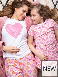 v-by-very-ladiesnbspheart-mothers-day-family-pyjamas-heart-print