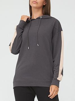 v-by-very-ath-leisurenbspcontrast-panel-hoodie-blackblush