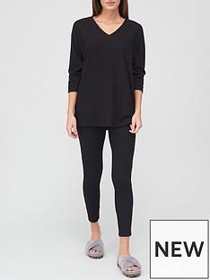v-by-very-slouchy-v-neck-lounge-set-black