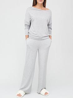 v-by-very-slouchy-notch-neck-lounge-set-grey
