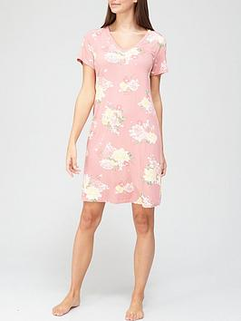v-by-very-v-neck-floral-nightdress-pink-floral