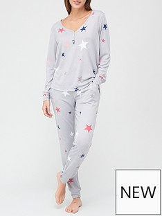 v-by-very-henley-lounge-pyjamas-star-print