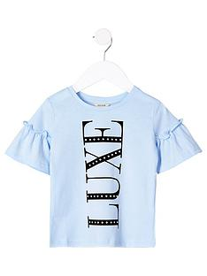 river-island-mini-girls-luxe-flute-sleeve-t-shirt--nbspblue