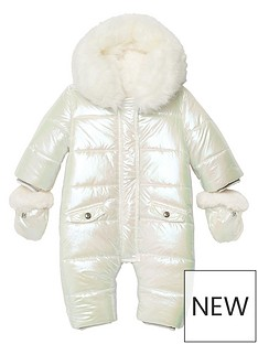 river-island-baby-baby-girls-irridescent-snowsuit-white