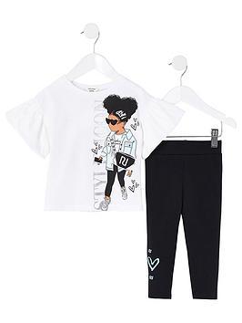 river-island-mini-mini-girls-style-icon-t-shirt-and-legging-set--nbspwhite