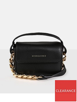 missguided-chain-detail-cross-body-bag
