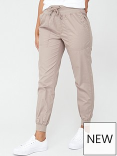 v-by-very-knit-trim-woven-cotton-jogger-trousernbsp--stone