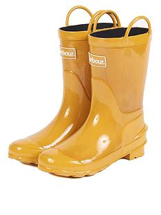 barbour-kids-durham-pull-on-wellington-boot-yellow
