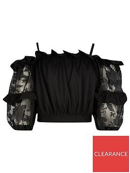 river-island-burnout-bardot-blouse--nbspblack