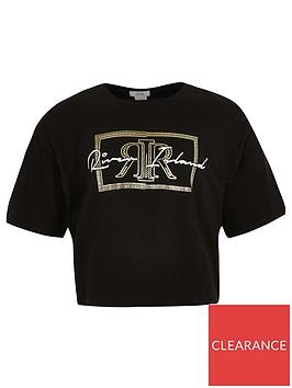 river-island-girls-foil-print-cropped-t-shirt-black