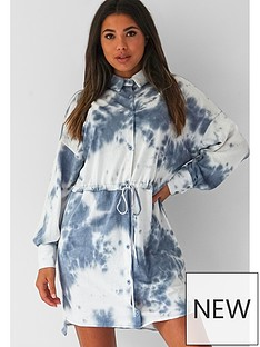 missguided-missguided-oversized-tie-waist-shirt-dress-tie-dye-blue