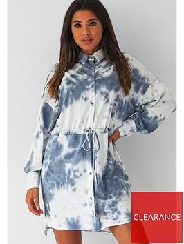 missguided-missguided-oversized-tie-waist-shirt-dress-tie-dye-blue