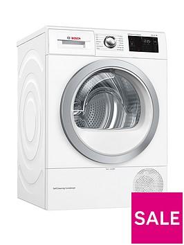 bosch-wtwh7660gb-9kg-load-heat-pump-tumble-dryer-white-silver-door