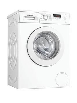 Bosch Waj24006Gb 7Kg Wash, 1200 Spin Washing Machine - White / Silver Door