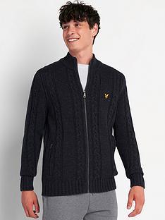 lyle-scott-lyle-scott-cable-knit-zip-through-cardigan