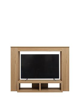 Camberley Tv Cabinet - Oak Effect - Fits 65 Inch Tv