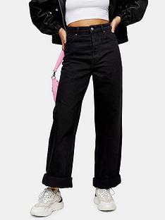 topshop-zed-mom-jeansnbsp--black