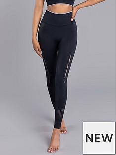boux-avenue-jacquard-textured-legging-black
